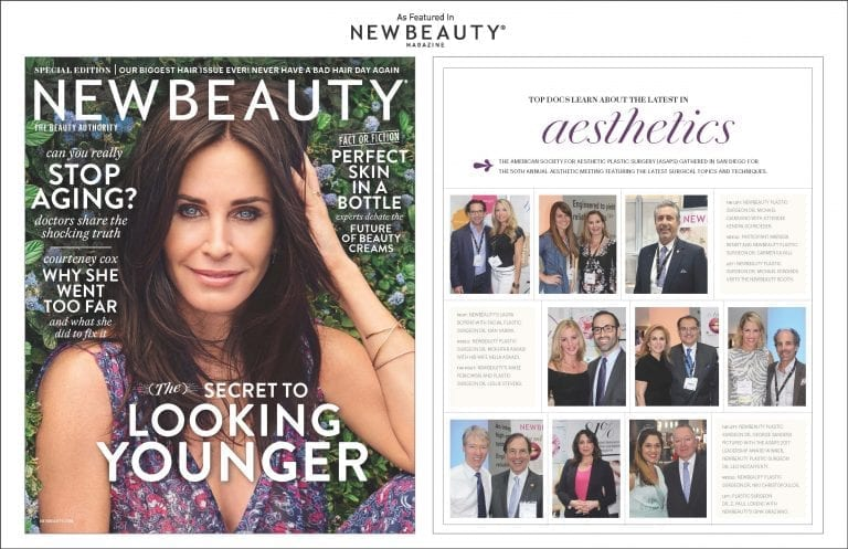 ASAPS Event Feature in New Beauty Magazine Screenshot