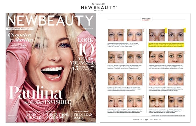 Feature in New Beauty Magazine Fall-Winter 2018 Screenshot