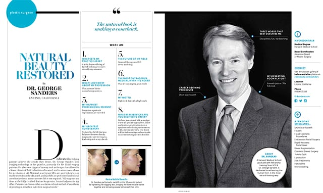 Natural Beauty Restored Ad in New Beauty Magazine Screenshot
