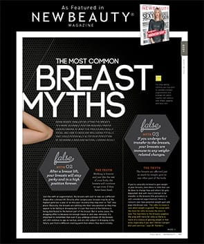 Common Breast Myths Article Screenshot