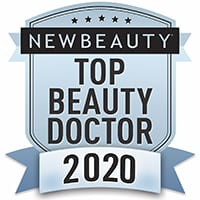 New beauty top beauty doctor 2020 badge